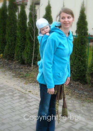 c4a5f285ef25b2 S]klepik dla rodziców - bluzy do noszenia dzieci w chuście lub ...