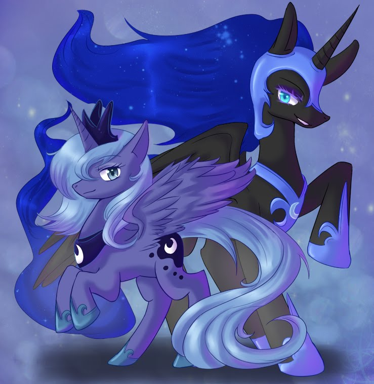 Ponies Forever Nightmare Moon