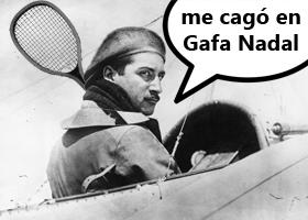 Roland Garros no era tenista