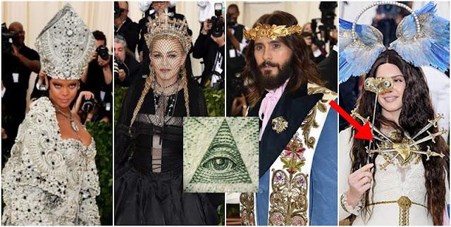Por que TODOS los famosos utilizaron simbologia religiosa en los MET Gala 2018?