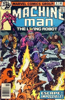 Machine Man #8