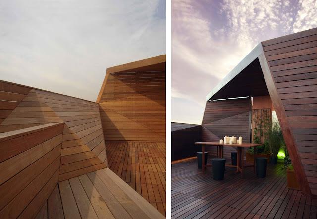 Revestimientos de madera en exterior espacios en madera - Revestimiento de paredes interiores en madera ...