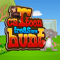 Juegos de Escape Cartoon Treasure Hunt