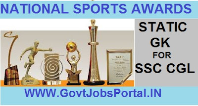 NATIONAL SPORTS AWARDS AND HONOURS IN INDIA
