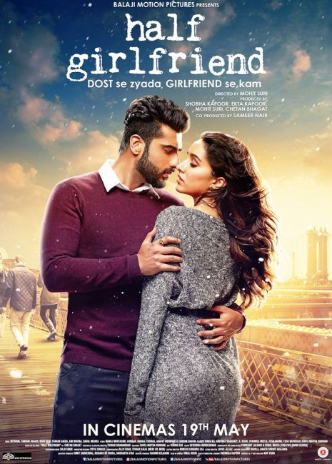 Half Girlfriend 2017 Hindi Movie 350MB BluRay 480p