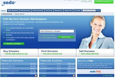 Sedodan domain almak