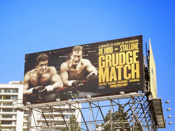 Grudge Match movie billboard