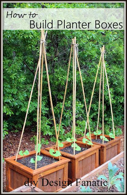 wood planter boxes, garden, vegetable garden, grow veggies in planter boxes, container gardening
