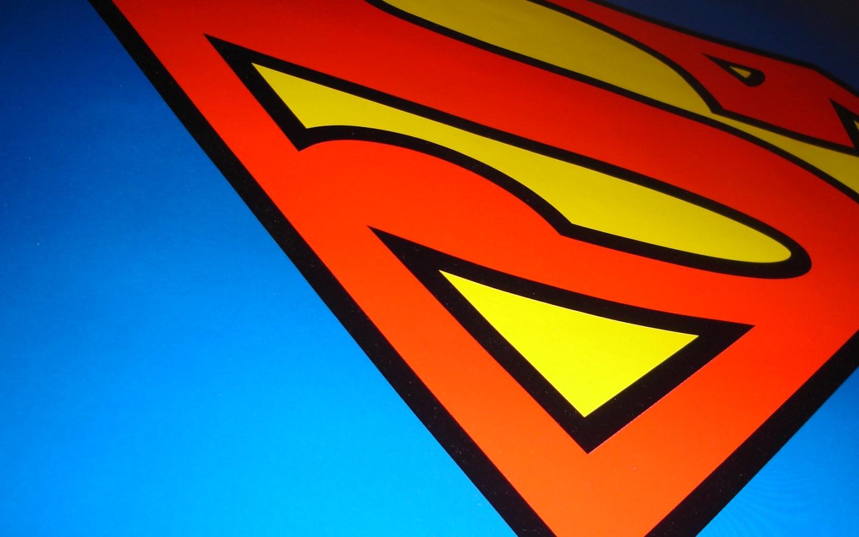 Coloriage logo superman - Fonds d'écran HD