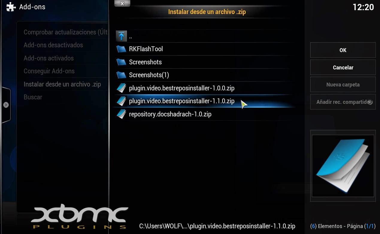 BEST REPOS INSTALLER KODI XBMC