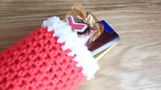 botitas de navidad a crochet