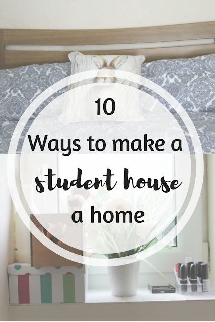 10 ways to make a student house feel more homely. Nourish ME: www.nourishmeblog.co.uk