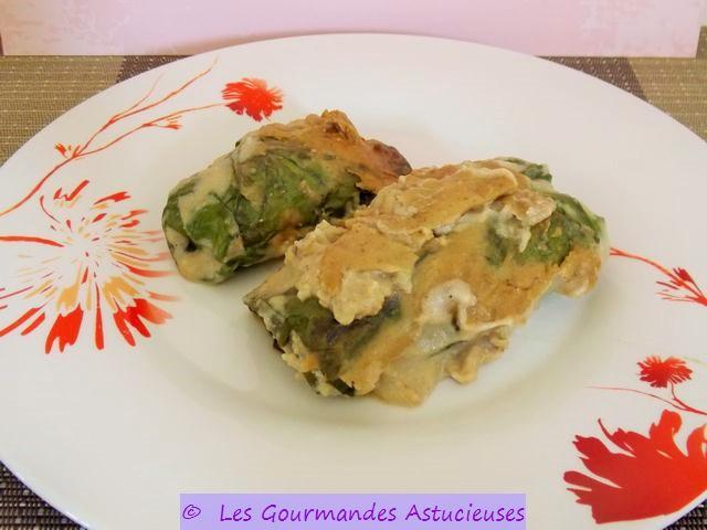 Les gourmandes astucieuses cuisine v g tarienne bio - Comment cuisiner des feuilles de blettes ...
