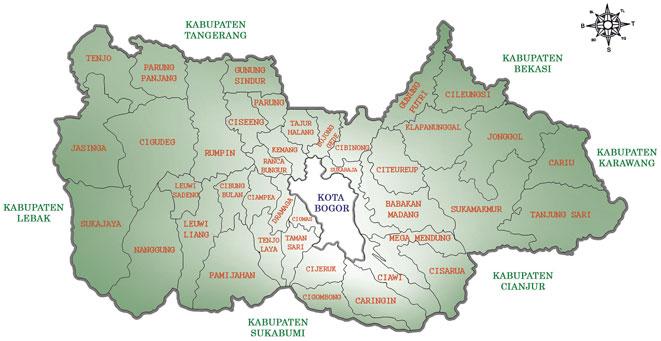 Sejarah Berdirinya Kabupaten Bogor Jawa Barat UPT
