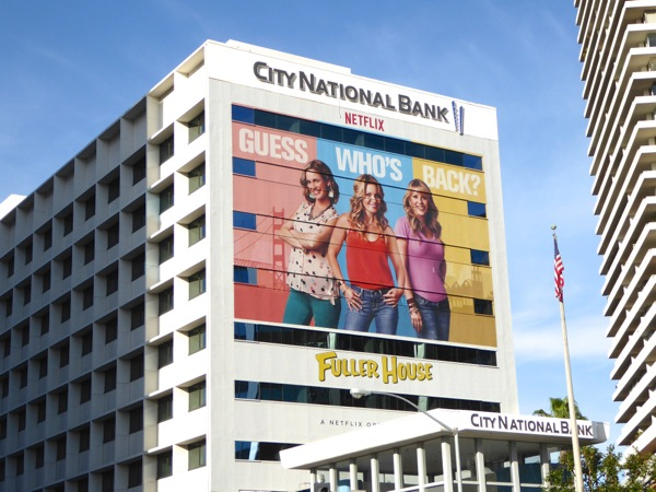 Giant Fuller House season 1 billboard