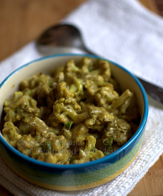low fat gobhi methi malai