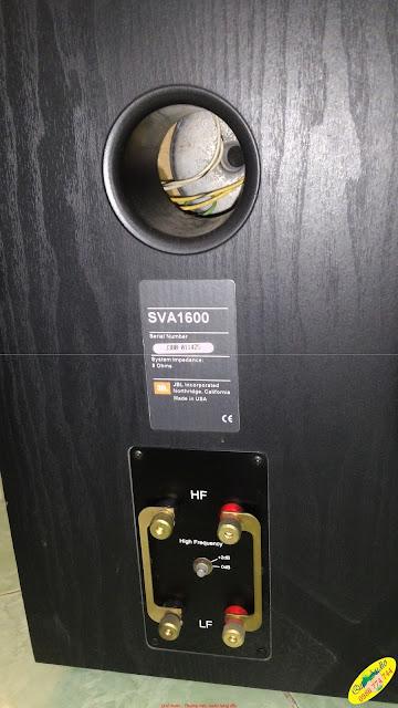 Loa JBL - model: SVA1600 - Made in USA