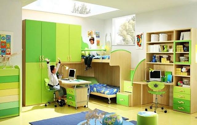 phòng ngủ bé trai - mẫu 13