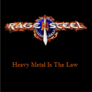 "Το ep των Rage 'n' Steel ""Heavy Metal Is The Law"""