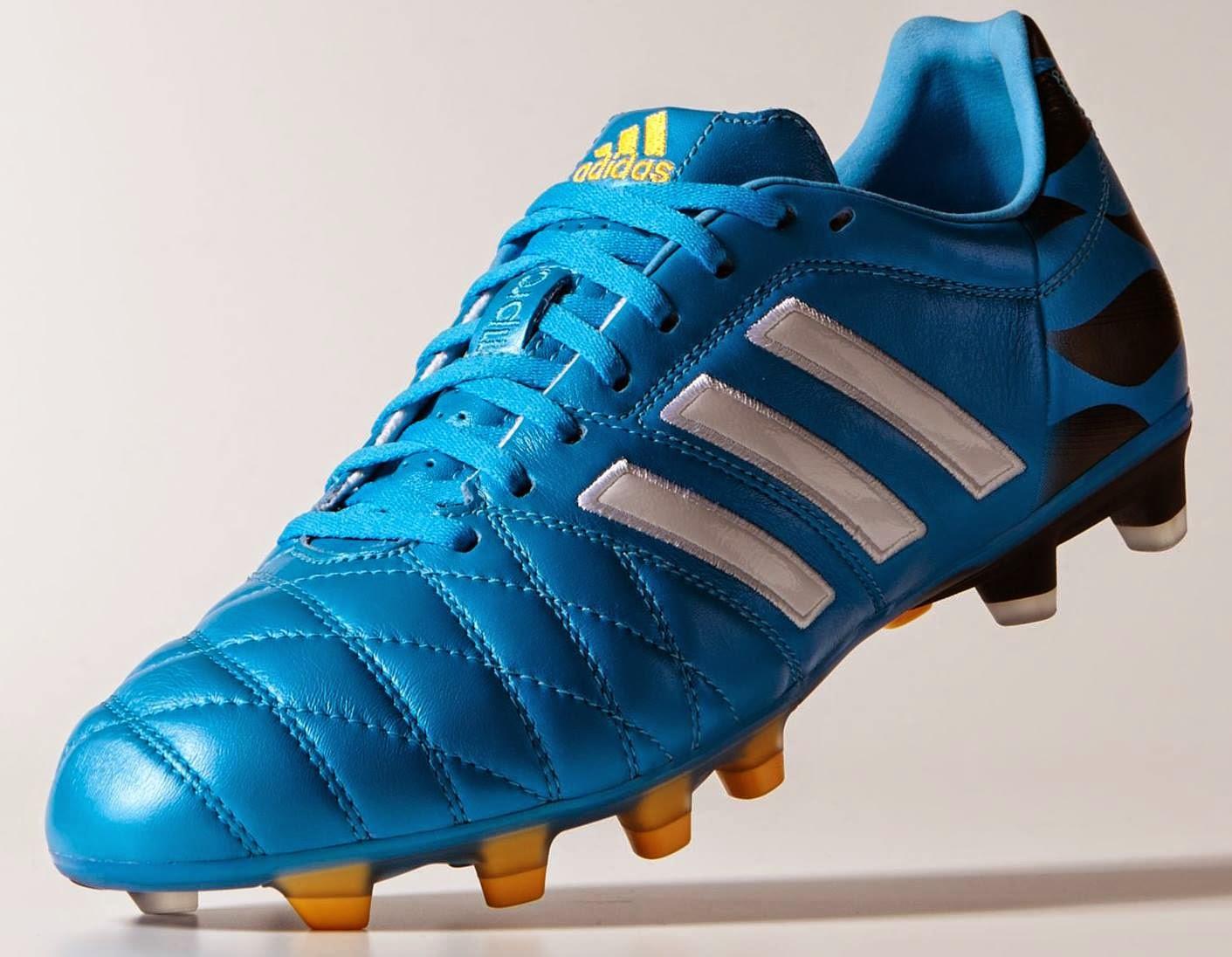 the best attitude d2b1a 7bc5c adidas+11pro+ +Tribal+Pack. botines adidas azul y rosa