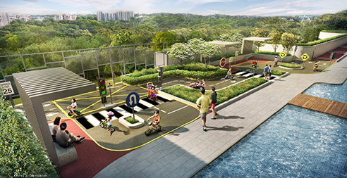 Westwood Residences - Kid's Traffic Garden