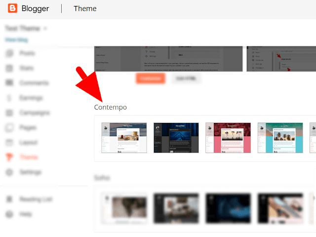 Contempo Blogger Theme Tutorial Hide Post Footer
