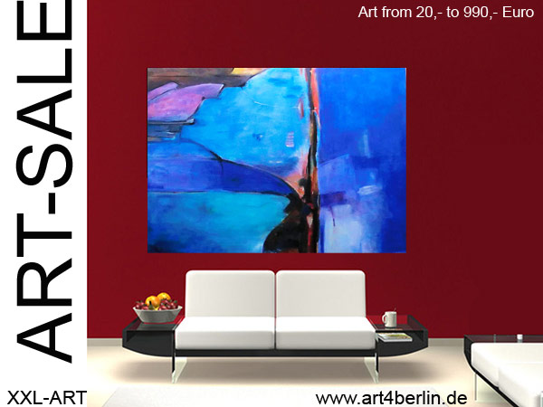 art sale moderne kunst abstrakte lgem lde gro e acrylbilder g nstig in zwei berliner. Black Bedroom Furniture Sets. Home Design Ideas