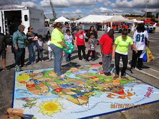 The Risk Game at a Touch a Truck Event