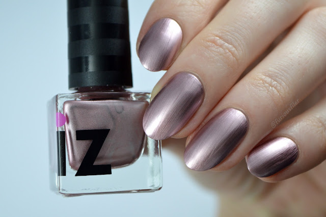 iz beauty london ball gown metallic rose gold swatch