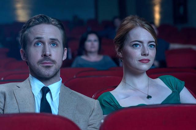 Ryan Gosling y Emma Stone, perfectos en sus papeles en una escena de La La Land