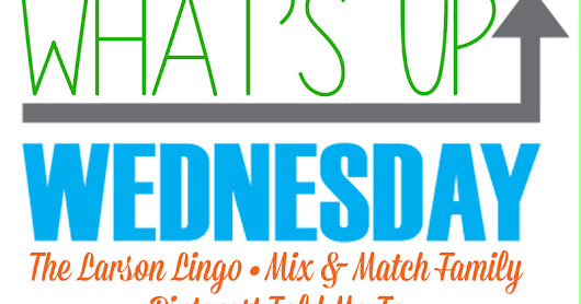 What's Up Wednesday... December Edition