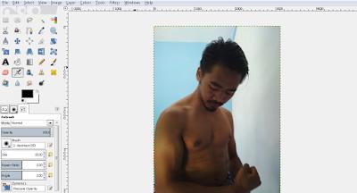 Cara Mudah Mengganti Background Belakang Foto Dengan GIMP