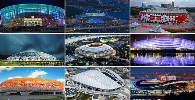 تعرف على ملاعب مباريات كأس العالم 2018 في روسيا
