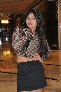 Indian Actress Model Naveena Jackson Latest Po Gallery in Black Mini Skirt  0015.JPG