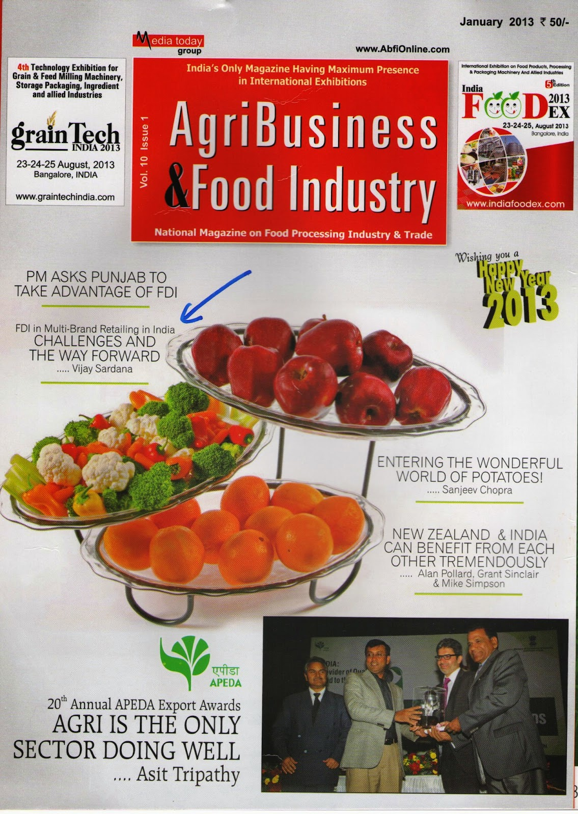 food industry articles