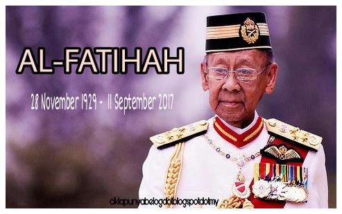 Sultan Kedah mangkat. AL-FATIHAH!