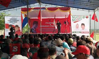 Abidin Fikri Ajak Kader PDI Perjuangan Bojonegoro Berpihak Pada Kaum Marhaen
