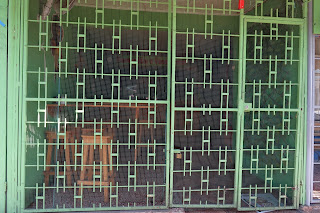 Decorative metal bars in Puriscal