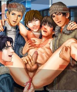 CMNM: clothed men nude man - ENM: embarressed nude man