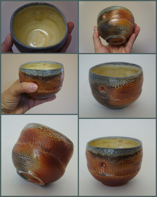 Soda fired pottery by Lily L.
