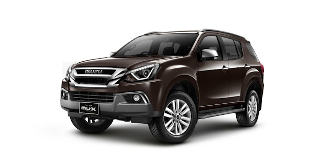 New 2018 Isuzu MU-X Brown color image