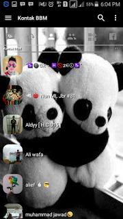 BBM MOD Panda Clone Unclone Terbaru dan Terpopuler