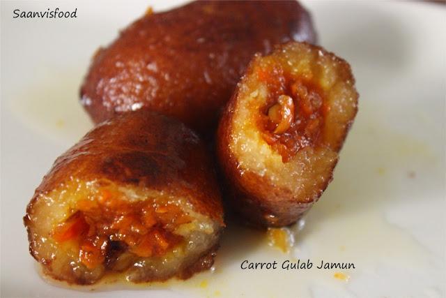 Carrot Gulab Jamun