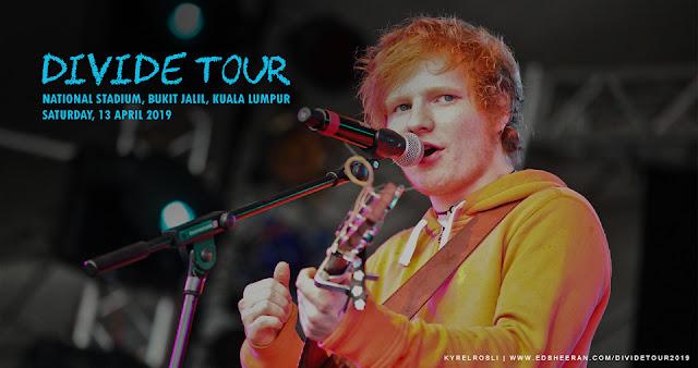 Ed Sheeran Comeback in Malaysia 2019!