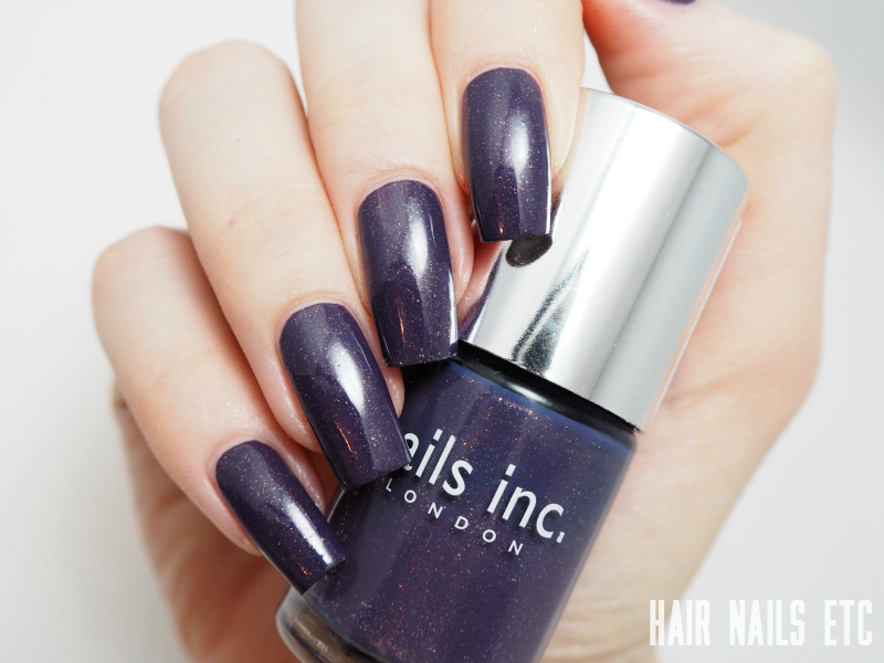 Nails Inc - Clifford Street - Swatches and Review