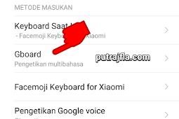 Cara mematikan suara keyboard hp xiaomi