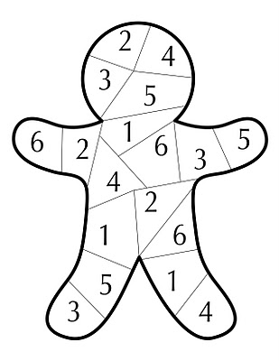 Six Numbers Game