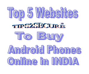 list of websites to shop online smartphones in India