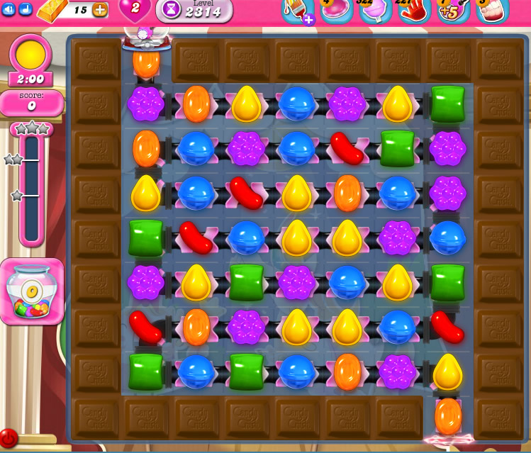 Candy Crush Saga level 2314