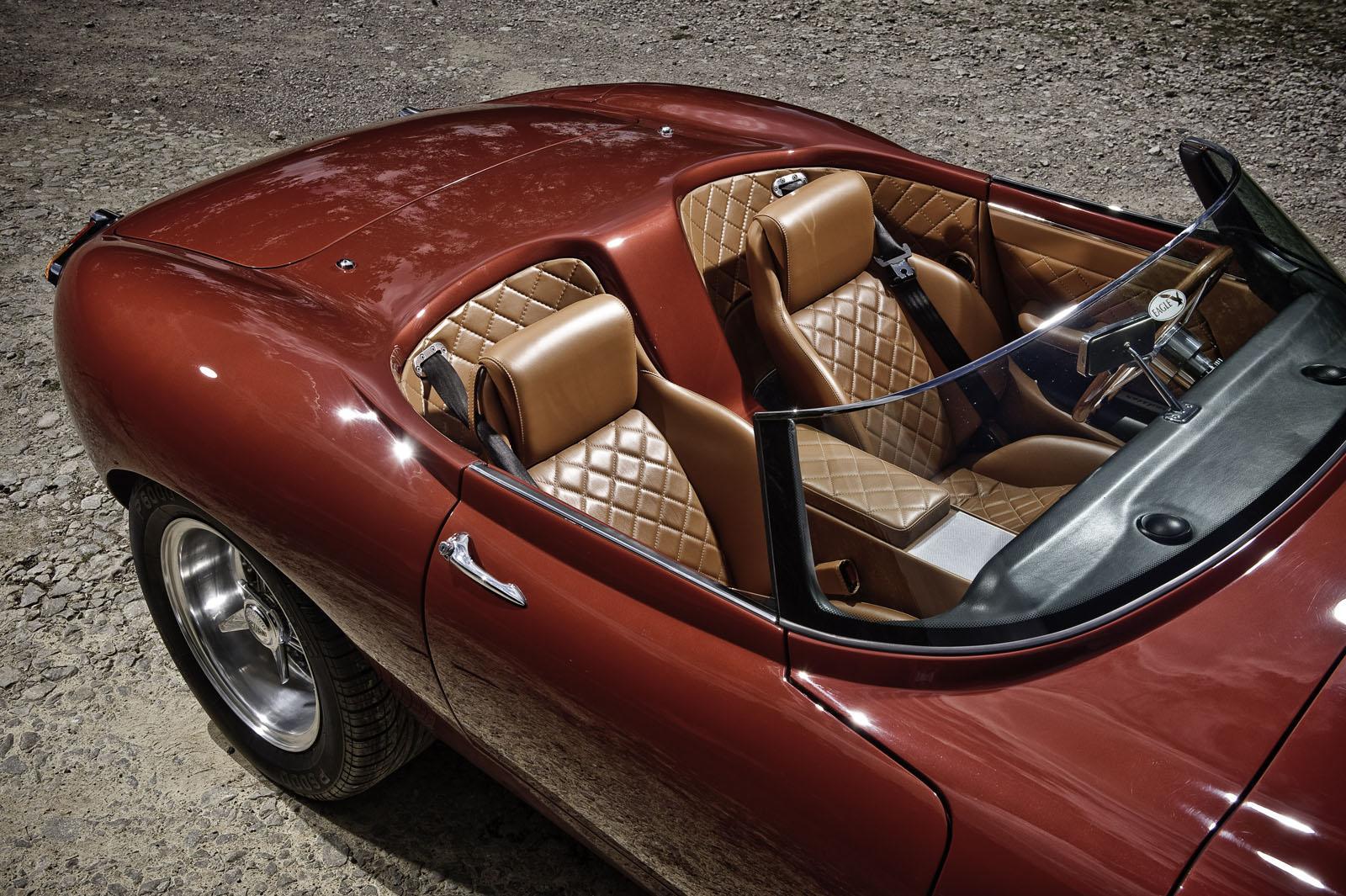Jaguar E Type Lightweight Sdster By Eagle